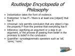routledge encyclopedia of philosophy