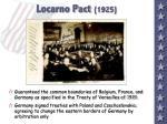 locarno pact 1925