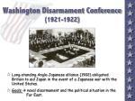 washington disarmament conference 1921 1922