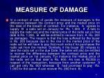 measure of damage1