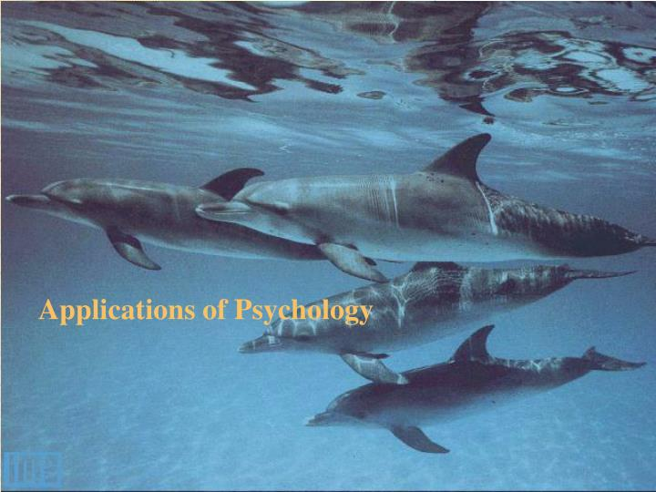 Applications of Psychology