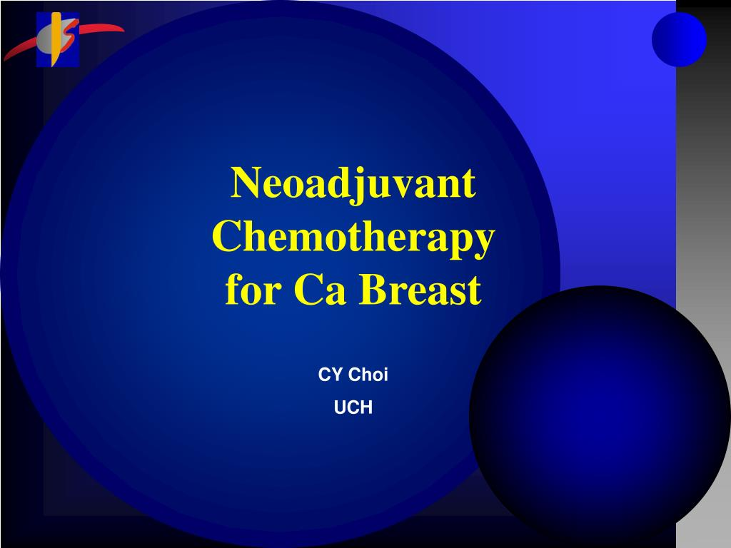 neoadjuvant chemotherapy for ca breast l.