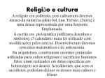 religi o e cultura