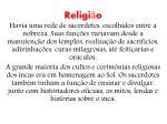 religi o