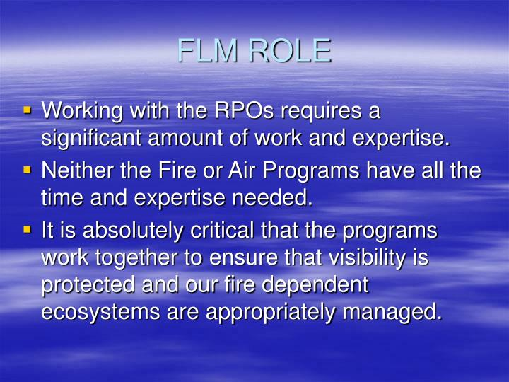 FLM ROLE