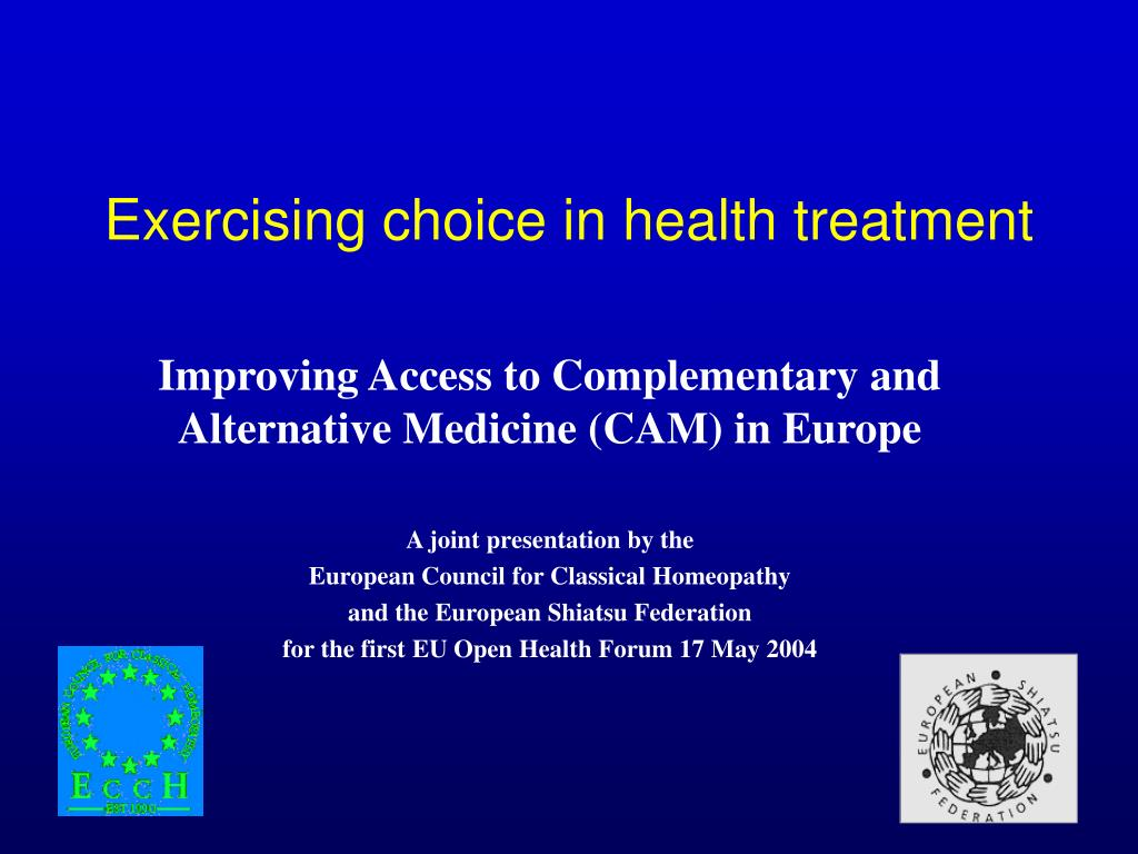 exercising choice in health treatment l.