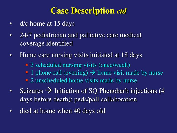 Case Description