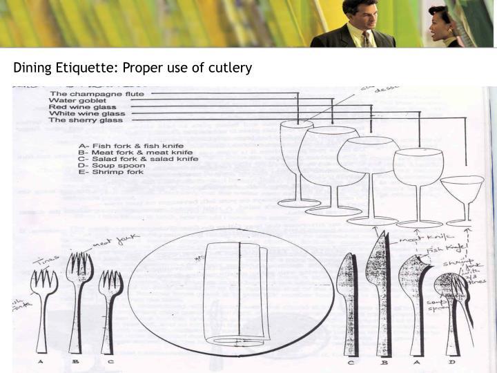 Dining Etiquette: