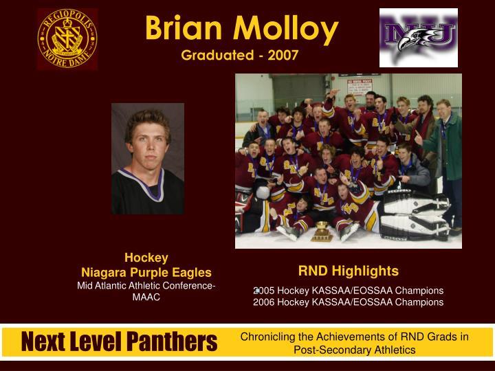 Brian Molloy