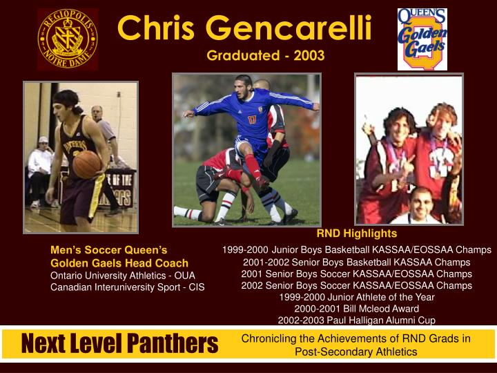 Chris Gencarelli