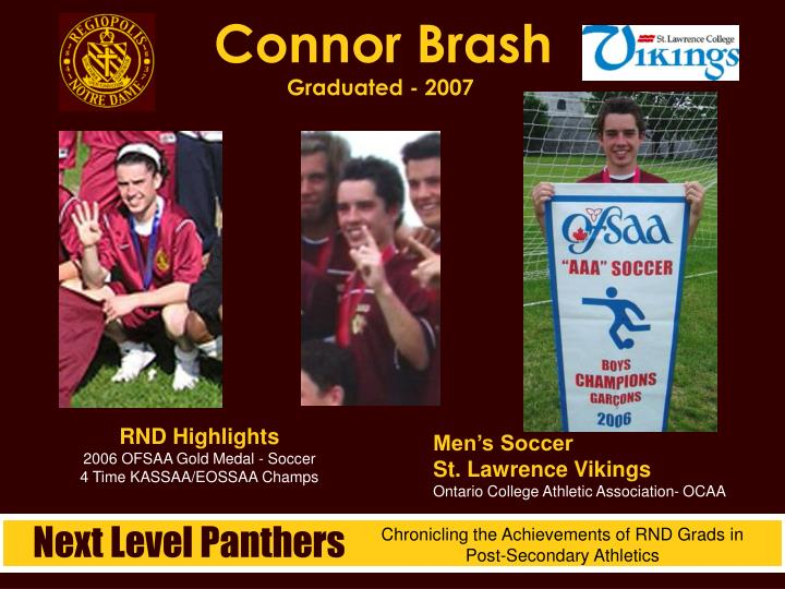Connor Brash