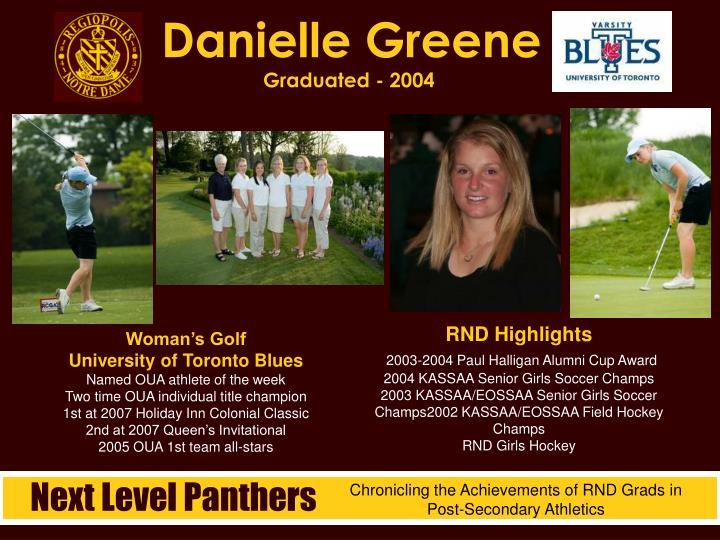 Danielle Greene