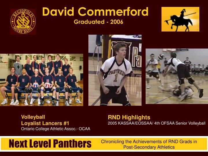 David Commerford