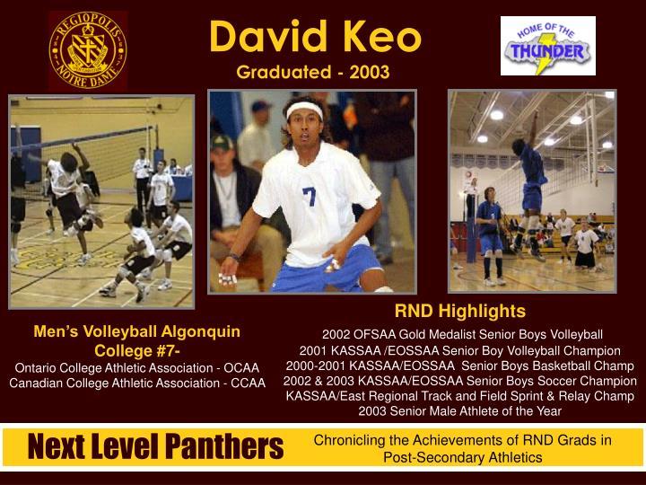 David Keo