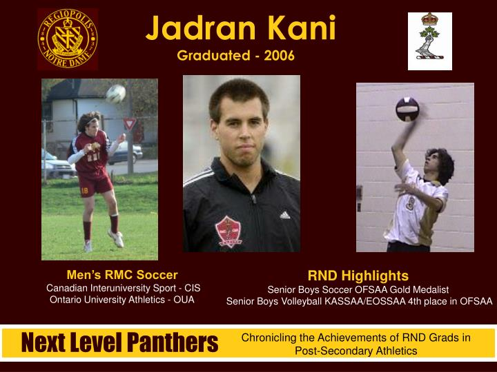 Jadran Kani
