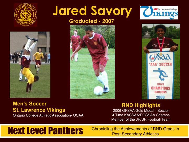 Jared Savory