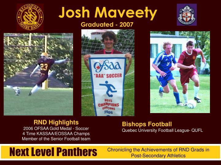 Josh Maveety