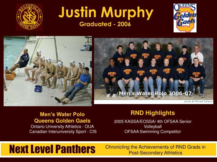 Justin Murphy