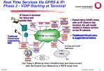 real time services via gprs ip phase 2 voip starting at terminal