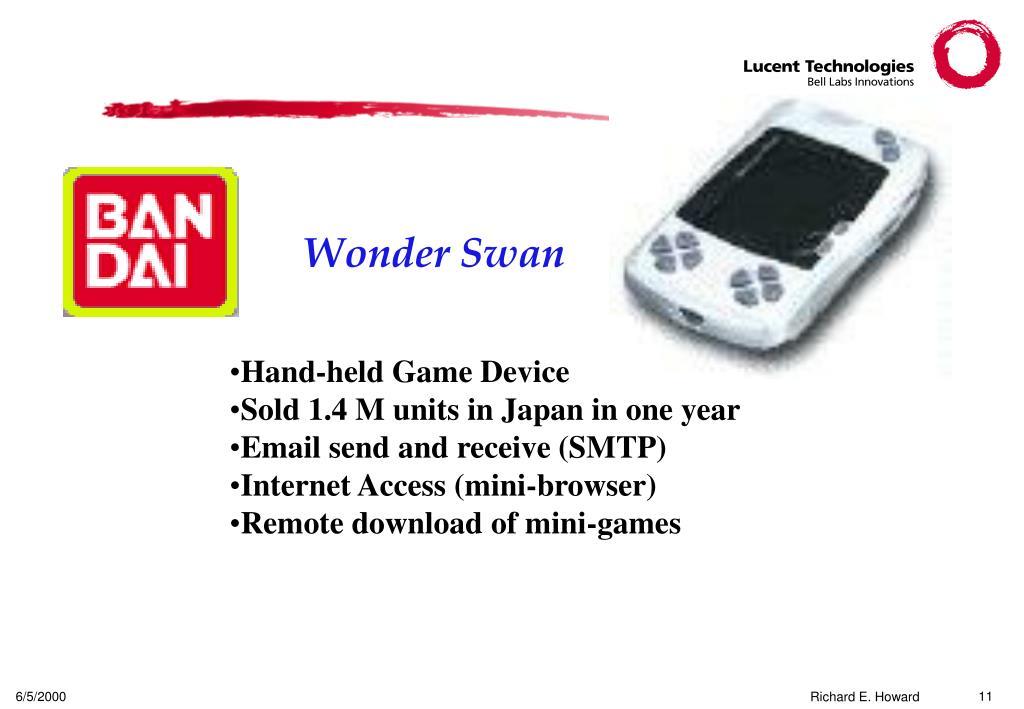 Wonder Swan