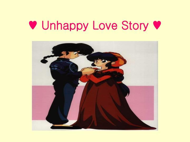 Unhappy love story