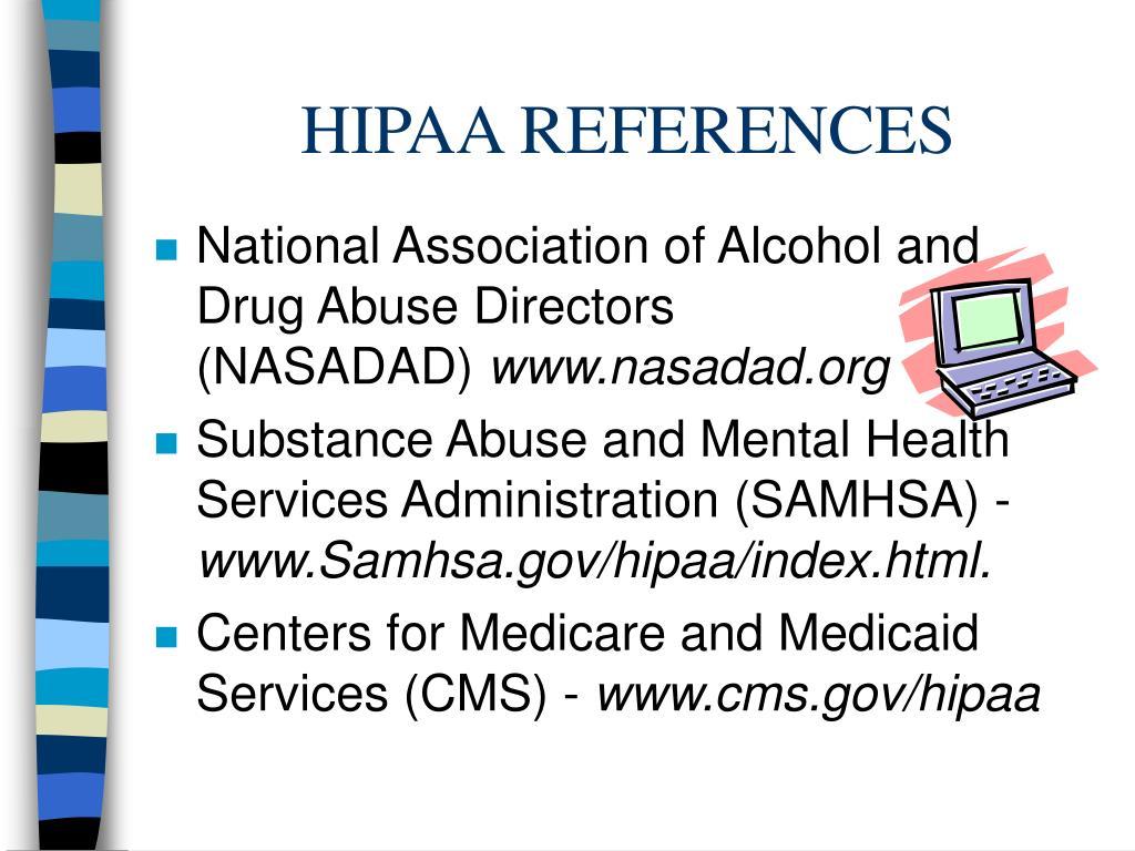 HIPAA REFERENCES