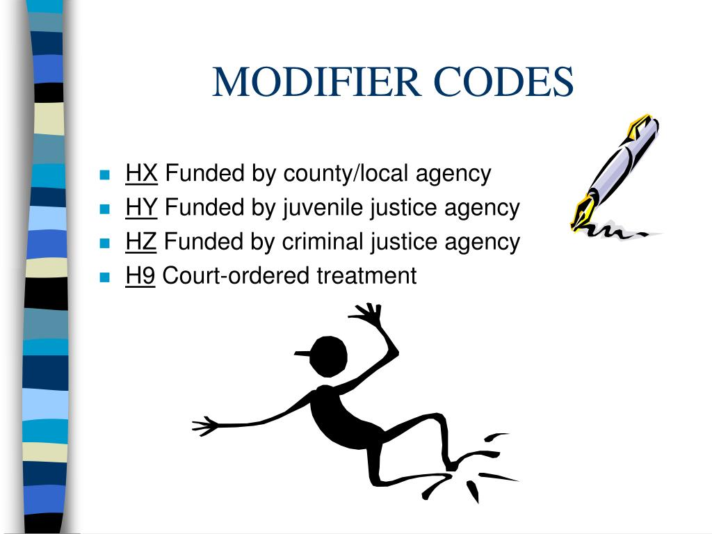 MODIFIER CODES