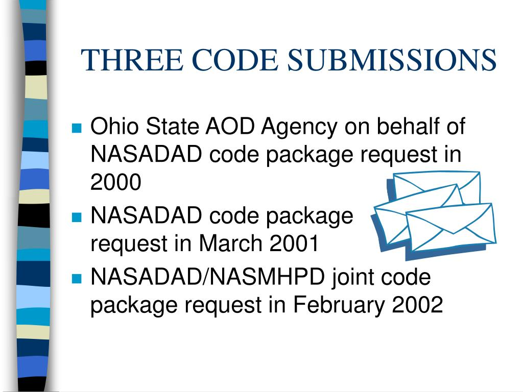 THREE CODE SUBMISSIONS