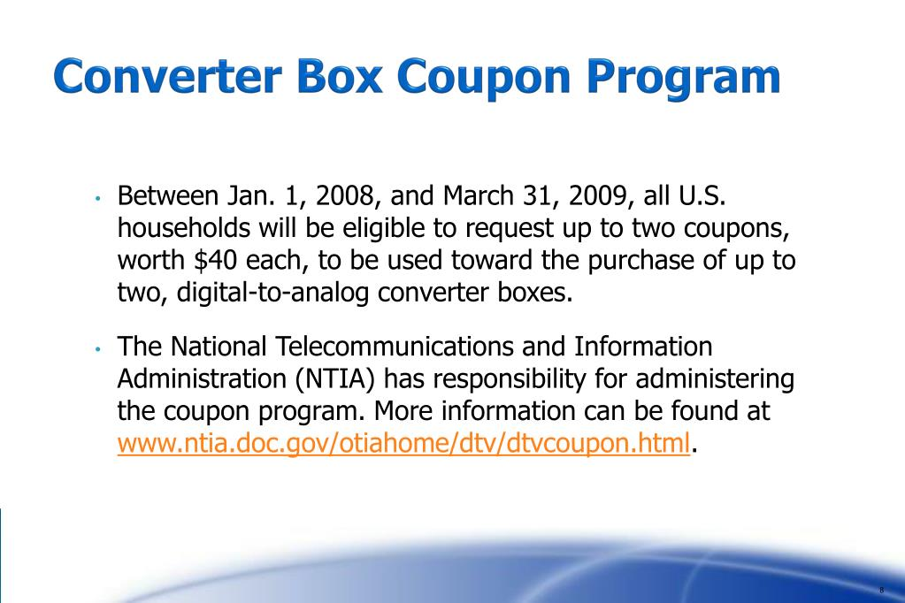 Converter Box Coupon Program