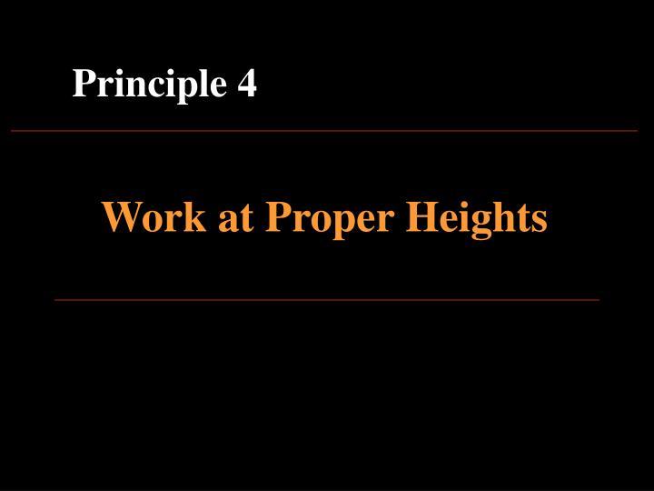 Principle 4