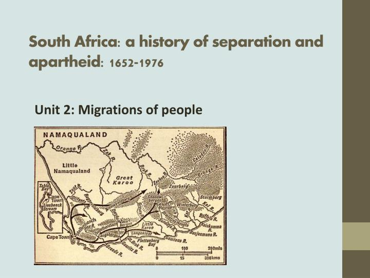 a history of the apartheid period in south africa South africa: the history and literature of of what post-apartheid south africa looks as short stories and novels written during this period.