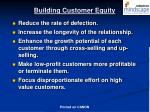building customer equity55