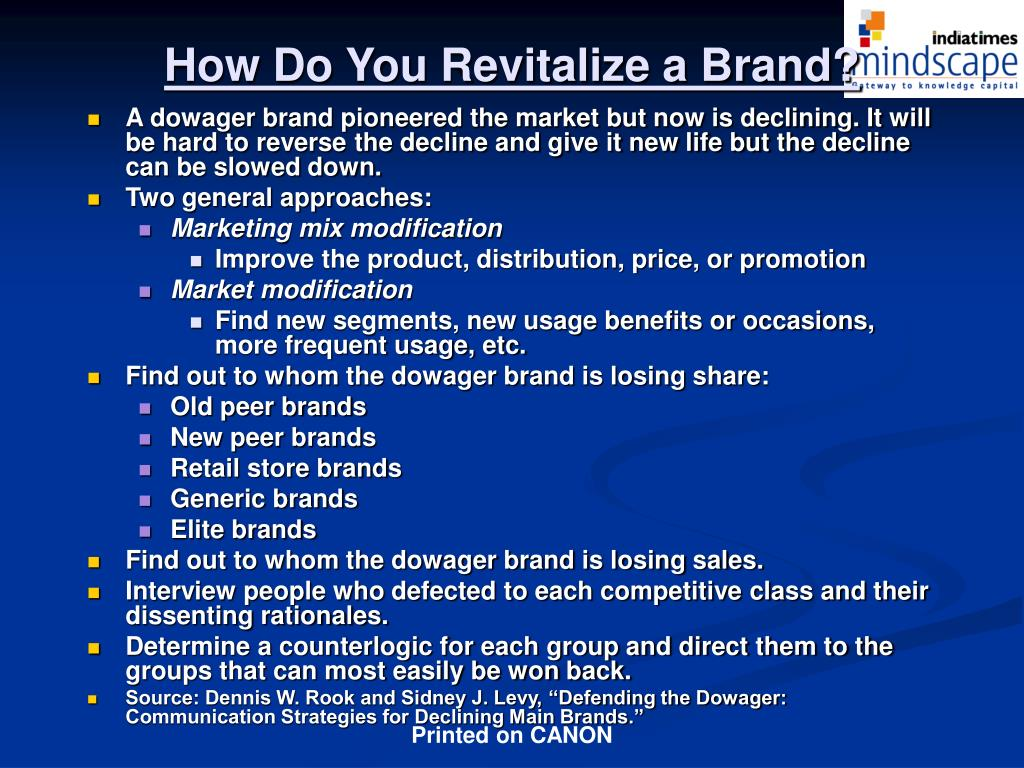 How Do You Revitalize a Brand?