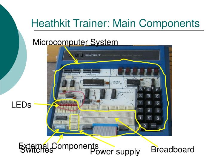 Heathkit Trainer: Main Components