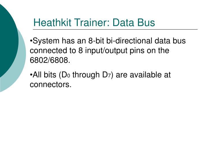 Heathkit Trainer: Data Bus
