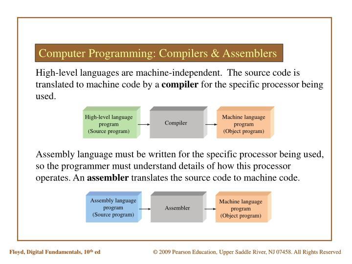 Computer Programming: Compilers & Assemblers