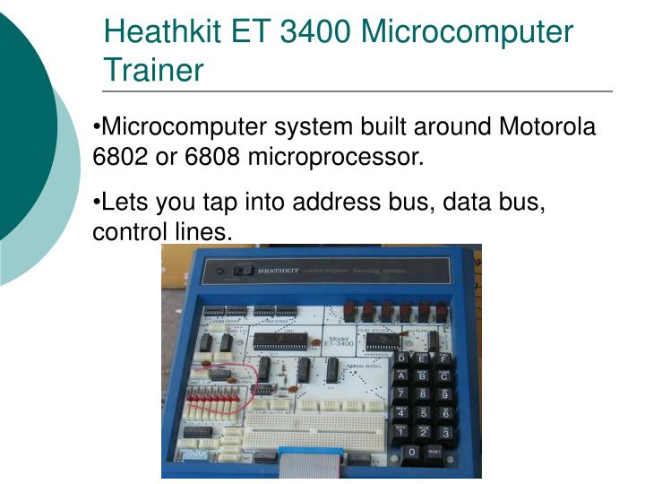Heathkit ET 3400 Microcomputer Trainer