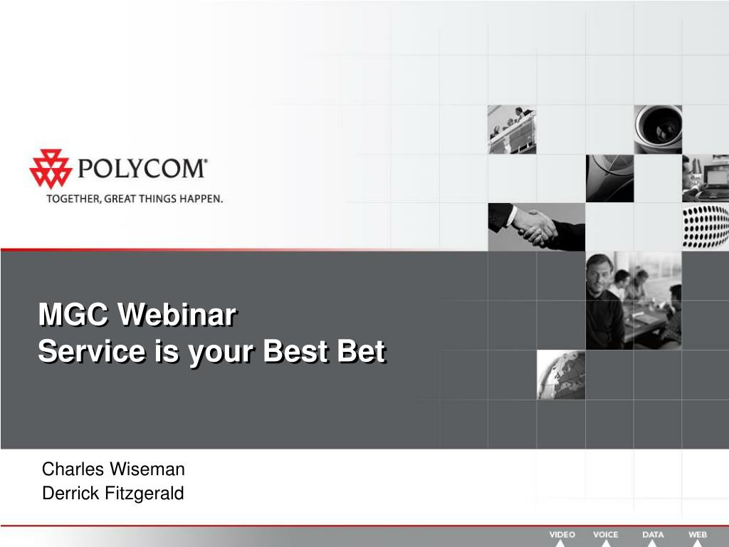 mgc webinar service is your best bet l.