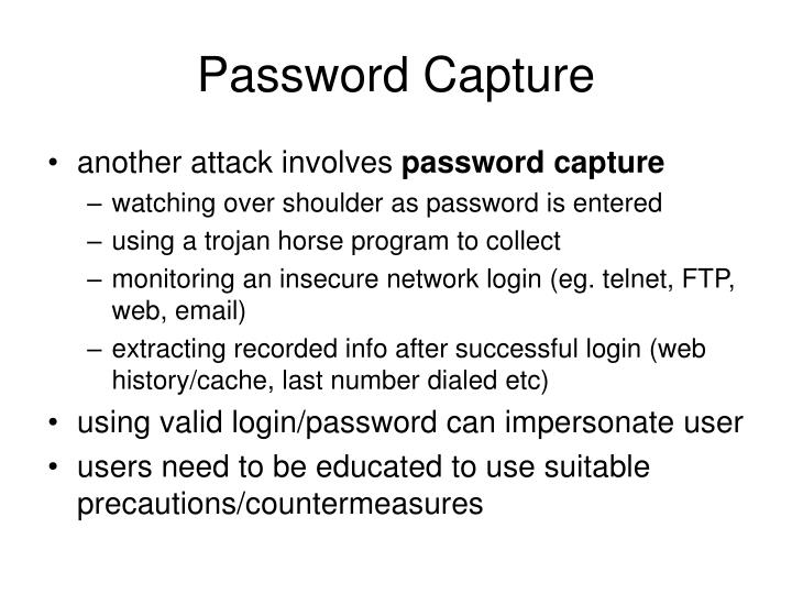 Password Capture