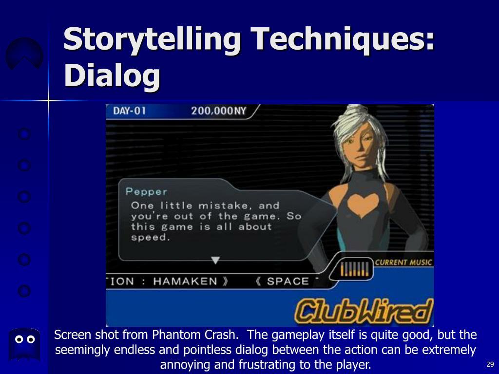 Storytelling Techniques:
