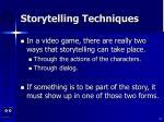 storytelling techniques