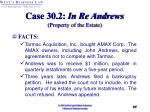 case 30 2 in re andrews property of the estate
