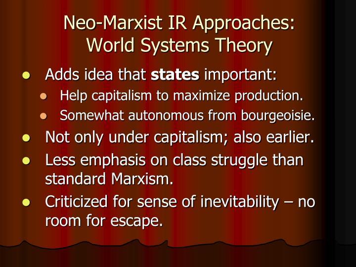 marxist aproach