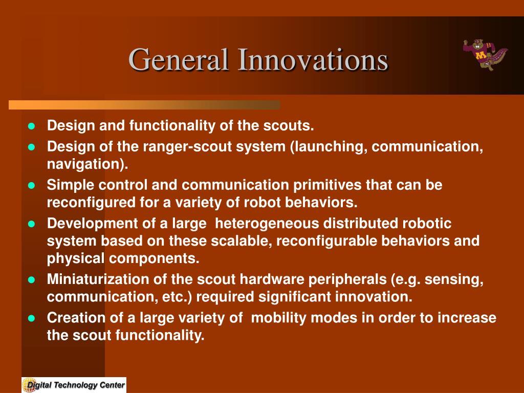 General Innovations