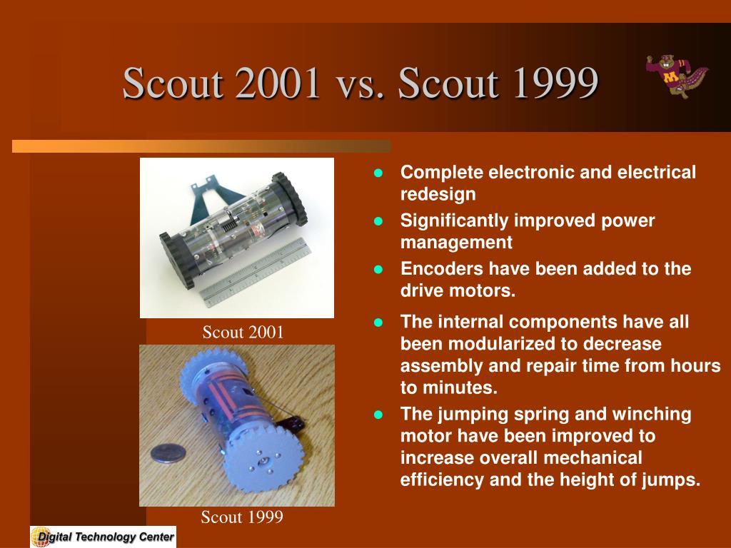 Scout 2001 vs. Scout 1999