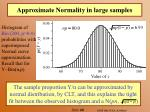 approximate normality in large samples30