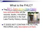 what is the fhlc