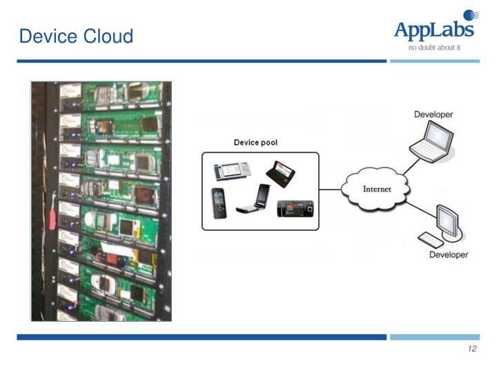 Device Cloud
