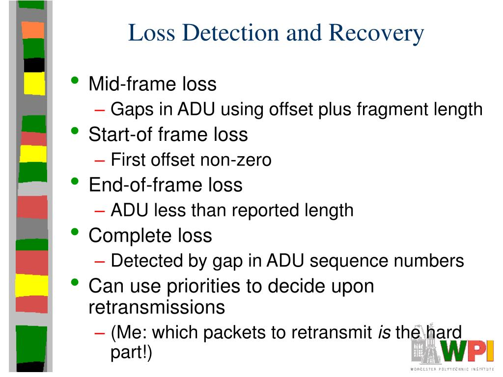 Loss Detection and Recovery