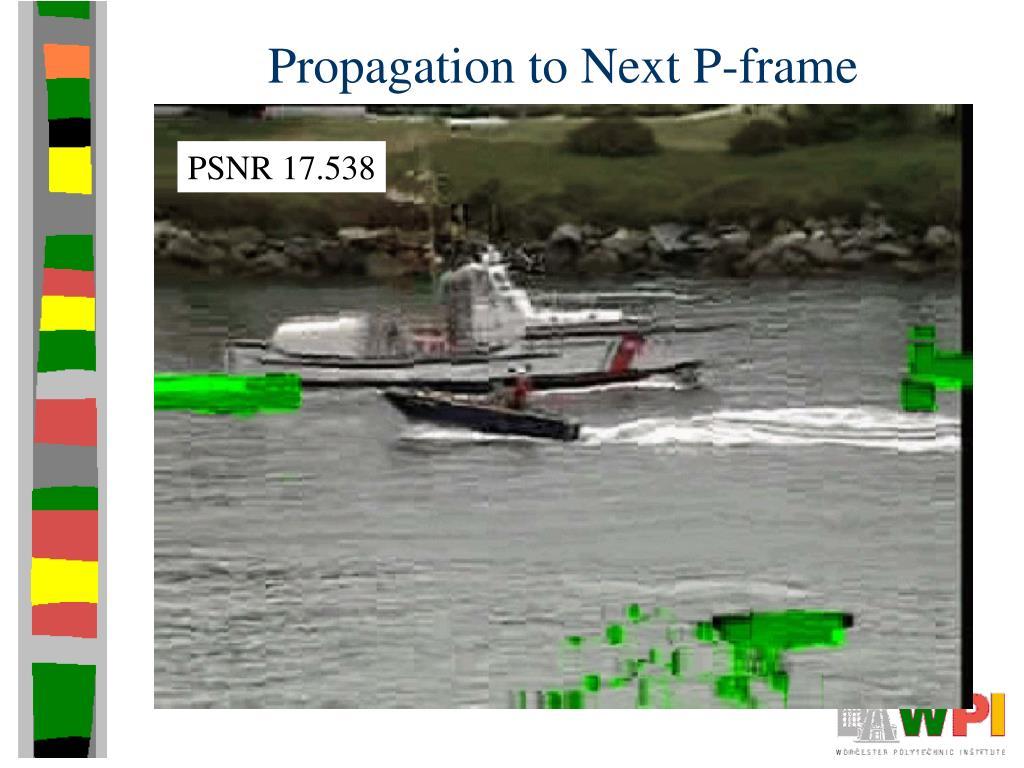 Propagation to Next P-frame